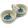 5-inch Stoneware Condiment Server - Polmedia Polish Pottery H2918I