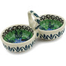 5-inch Stoneware Condiment Server - Polmedia Polish Pottery H9791B