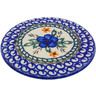 5-inch Stoneware Cutting Board - Polmedia Polish Pottery H5962B