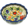 5-inch Stoneware Fluted Bowl - Polmedia Polish Pottery H4445L