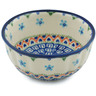 5-inch Stoneware Fluted Bowl - Polmedia Polish Pottery H9171H