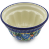 5-inch Stoneware Fluted Cake Pan - Polmedia Polish Pottery H2132B