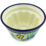 5-inch Stoneware Fluted Cake Pan - Polmedia Polish Pottery H6203G