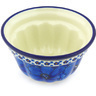 5-inch Stoneware Fluted Cake Pan - Polmedia Polish Pottery H6362G