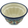 5-inch Stoneware Fluted Cake Pan - Polmedia Polish Pottery H6860H