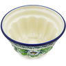 5-inch Stoneware Fluted Cake Pan - Polmedia Polish Pottery H7474J