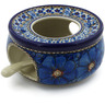 5-inch Stoneware Heater with Candle Holder - Polmedia Polish Pottery H9649H