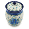 5-inch Stoneware Jar with Lid - Polmedia Polish Pottery H0686I
