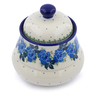5-inch Stoneware Jar with Lid - Polmedia Polish Pottery H1120J