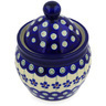 5-inch Stoneware Jar with Lid - Polmedia Polish Pottery H3094E