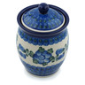 5-inch Stoneware Jar with Lid - Polmedia Polish Pottery H4287B