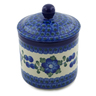 5-inch Stoneware Jar with Lid - Polmedia Polish Pottery H5087G