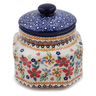 5-inch Stoneware Jar with Lid - Polmedia Polish Pottery H6748K