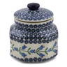 5-inch Stoneware Jar with Lid - Polmedia Polish Pottery H6766K