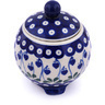 5-inch Stoneware Jar with Lid - Polmedia Polish Pottery H7024G