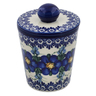 5-inch Stoneware Jar with Lid - Polmedia Polish Pottery H7482K