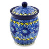 5-inch Stoneware Jar with Lid - Polmedia Polish Pottery H7518J
