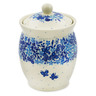 5-inch Stoneware Jar with Lid - Polmedia Polish Pottery H7525J