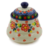 5-inch Stoneware Jar with Lid - Polmedia Polish Pottery H7659J