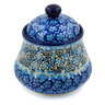 5-inch Stoneware Jar with Lid - Polmedia Polish Pottery H7660J