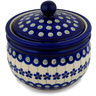 5-inch Stoneware Jar with Lid - Polmedia Polish Pottery H9753C