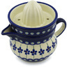 5-inch Stoneware Juice Reamer with Jug - Polmedia Polish Pottery H3815H