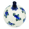 5-inch Stoneware Ornament Christmas Ball - Polmedia Polish Pottery H5299I