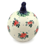 5-inch Stoneware Ornament Christmas Ball - Polmedia Polish Pottery H5300I