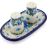 5-inch Stoneware Salt and Pepper Set - Polmedia Polish Pottery H0891I