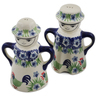 5-inch Stoneware Salt and Pepper Set - Polmedia Polish Pottery H2899K