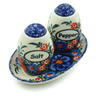 5-inch Stoneware Salt and Pepper Set - Polmedia Polish Pottery H3897B