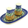 5-inch Stoneware Salt and Pepper Set - Polmedia Polish Pottery H7749D
