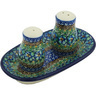 5-inch Stoneware Salt and Pepper Set - Polmedia Polish Pottery H9280G