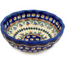5-inch Stoneware Scalloped Bowl - Polmedia Polish Pottery H3456E