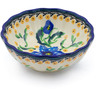 5-inch Stoneware Scalloped Bowl - Polmedia Polish Pottery H3644H