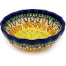 5-inch Stoneware Scalloped Bowl - Polmedia Polish Pottery H7225D