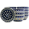 5-inch Stoneware Set of 12 Bowls - Polmedia Polish Pottery H3670J