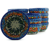 5-inch Stoneware Set of 12 Bowls - Polmedia Polish Pottery H5280J