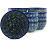 5-inch Stoneware Set of 12 Bowls - Polmedia Polish Pottery H5281J