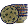 5-inch Stoneware Set of 6 Bowls - Polmedia Polish Pottery H0021K