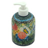 5-inch Stoneware Soap Dispenser - Polmedia Polish Pottery H0072C