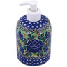 5-inch Stoneware Soap Dispenser - Polmedia Polish Pottery H0529G