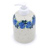 5-inch Stoneware Soap Dispenser - Polmedia Polish Pottery H1146J