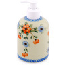 5-inch Stoneware Soap Dispenser - Polmedia Polish Pottery H1824D