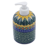 5-inch Stoneware Soap Dispenser - Polmedia Polish Pottery H1939B