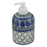 5-inch Stoneware Soap Dispenser - Polmedia Polish Pottery H1940B