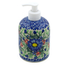5-inch Stoneware Soap Dispenser - Polmedia Polish Pottery H2345B