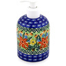 5-inch Stoneware Soap Dispenser - Polmedia Polish Pottery H2365B
