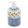 5-inch Stoneware Soap Dispenser - Polmedia Polish Pottery H2456B