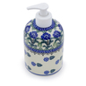 5-inch Stoneware Soap Dispenser - Polmedia Polish Pottery H2803J